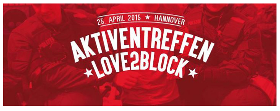 Love2Block Treffen am 25.04.2015